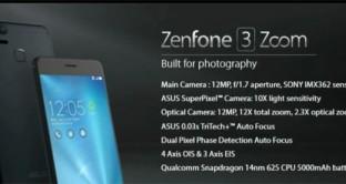 Al CES 2017 arriva Asus ZenFone 3 Zoom, smartphone con batteria e fotocamera da flagship: uscita, prezzo e scheda tecnica. News aggiornate.