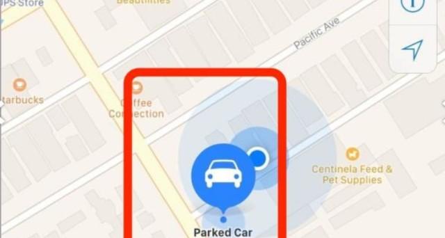 iOS 10, modalità dove ho parcheggiato l'auto su iPhone: come funziona