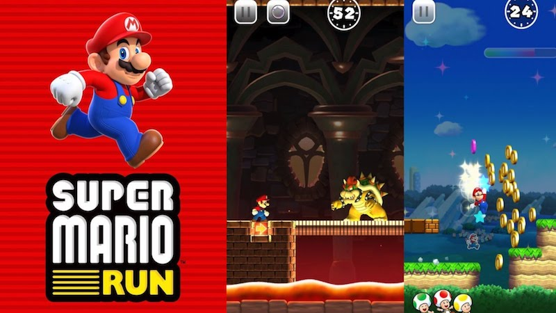 super mario run iphone-7