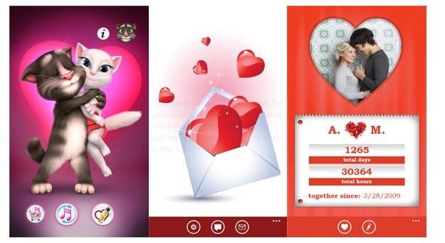 Ecco le migliori app Android e iOS per la festa di San Valentino 2017: biglietti d'auguri, diari privati e tante altre sorprese.