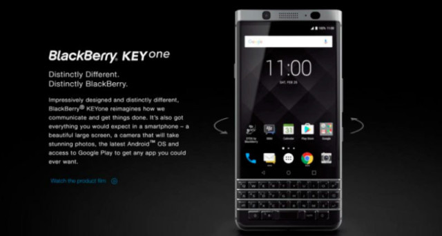 BlackBerry KEYone è ufficiale: rinasce il mito della tastiera fisica, scheda tecnica, prezzo e uscita