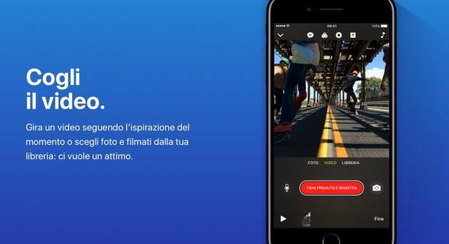 Apple Clips: cos'è e come funziona la nuova app iOS per creare video in stile SnapChat e Instagram