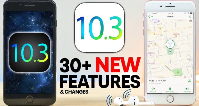 iOS 10.3 e 10.3.1 per iPhone 7, 6S, SE, 6, 5S: ancora problemi? News e come ottimizzare