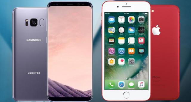 Quale scegliere, iPhone 7 Plus, Galaxy S8 o LG G6? Ecco la nostra indagine di mercato con il confronto tra le offerte online di fine aprile 2017.