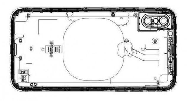 Ecco l'immagine di uno schema di iPhone 8: tutto lascia intendere doppia fotocamera frontale, TouchID integrato e ricarica wireless. News, leaks e rumors.