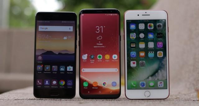 Galaxy S8 e S8+, Huawei P10 e P10 Plus, iPhone 7 e 7 Plus: offerte a confronto a partire da 455 euro