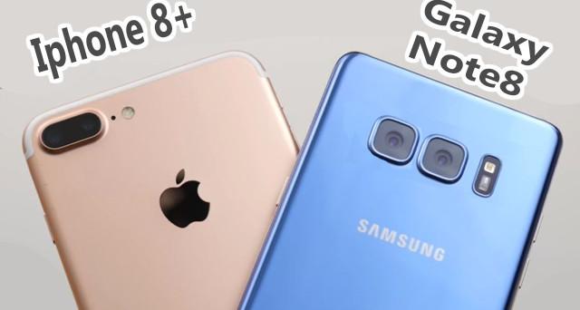 Samsung Galaxy Note 8 vs iPhone 8: non solo l'uscita, ma è su questa feature che si gioca la sfida