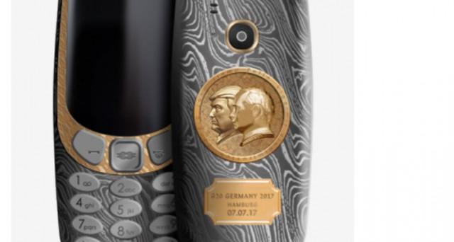 Arriva l'edizione limitata Trump-Putin del Nokia 3310 ma ad un costo esagerato, le info.