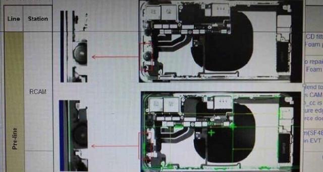 Una foto dell'interno di iPhone 8 mostra 2 features che nessun iPhone ha mai avuto prima – rumors Foxconn