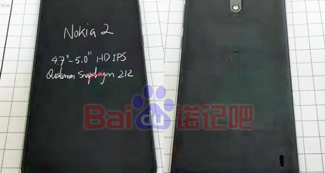 Nokia 2: prime immagini 'reali' e scheda tecnica dell'entry level che costerà meno di 100 euro