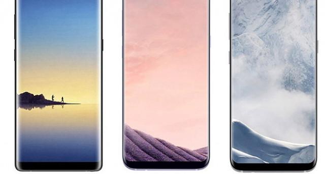 Samsung ha davvero realizzato Galaxy Note 8 del tutto identico a Galaxy S8+ e Galaxy S8? Ecco una comparazione per immagini.