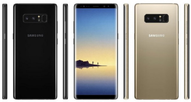 Samsung Galaxy Note 8: svelata la data di uscita in Italia, conferma Samsung DeX e prezzo