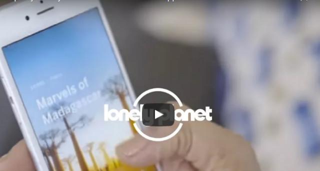 Ecco le info su come funziona la nuova app della Lonely Planet in cui nome è Trips. Al momento disponibile solo per iOS ma da settembre anche per Android.