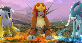 Pokémon Go, Niantic lancia Entei, Raikou e Suicune, ecco dove trovare i cani leggendari