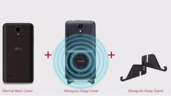 LG K7i, lo smartphone anti-zanzare, ecco il device che tiene lontani gli insetti – Scheda tecnica