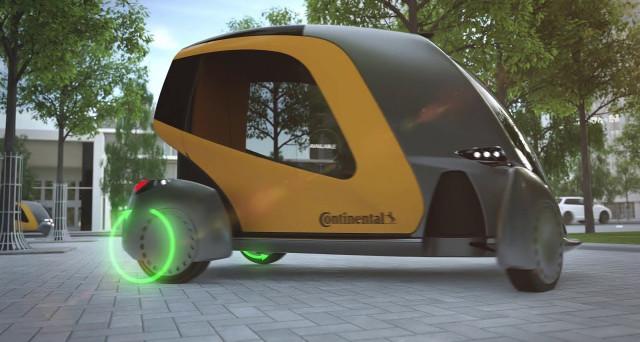 Continental prepara Bee, il nuovo concept di auto intelligente con guida autonoma. Il pilota non c'è, l'auto è connessa a tutte le altre macchine.