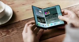 Smartphone pieghevole confermato, l'annuncio del nuovo Samsung Galaxy a novembre
