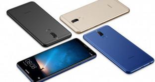 Huawei Nova 3, prime immagini online, rumors smartphone fascia media