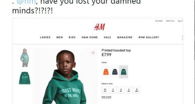 Polemiche sul web per la pubblicità dell'azienda svedese H&M, bimbo nero paragonato ad una scimmia della giungla. La casa di abbigliamento chiede scusa, ma non convince.