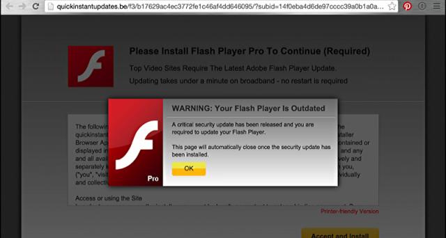 Computer a rischio con l'aggiornamento Flash Player. Malware russo infetta tutti, ma gli esperti dicono che arriva proprio dal sito ufficiale Adobe.