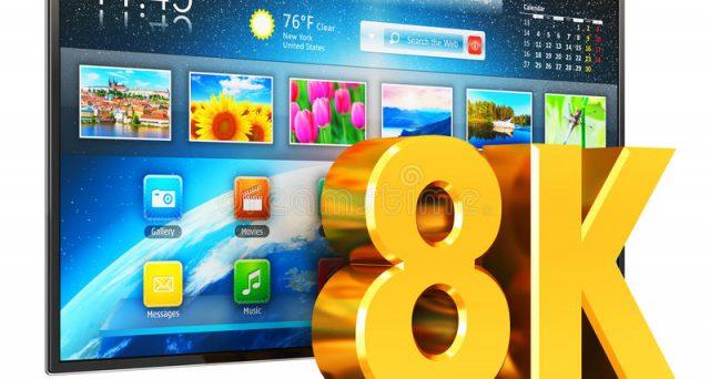 FullHD, HDR, 4K, ora arrivano anche le smart tv 8K, entro l'anno Sharp e Samsung le lanceranno sul mercato, ma mettetevi l'anima in pace, contenuti non ce ne saranno.
