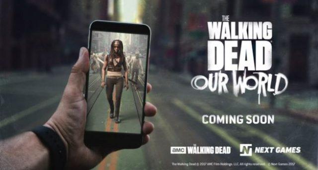 Ecco The Walking Dead in versione realtà aumentata. Ecco il gioco AR per smartphone Android e iOS in arrivo, gli zombi stanno per arrivare nel nostro mondo.