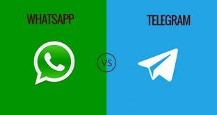 WhatsApp vs Telegram, la sfida delle sfide chi la vince?