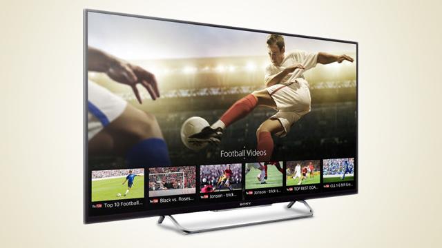 Smart tv Sony, l'azienda mostra per errore le prossime