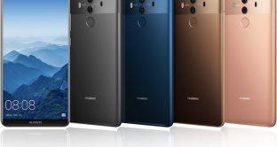 Huawei Mate 20, scheda tecnica, prezzo e uscita, c'è anche il colosso Mate Pro