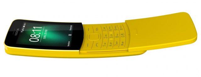 Signore e signori, arriva il Nokia 8110 4G, versione riveduta e corretta in stile smart del Banana Phone degli anni 90.