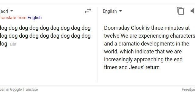 Problemi per Google Translate o improvvisa vocazione profetica? Ecco lo strano caso delle profezie del cane (dog)