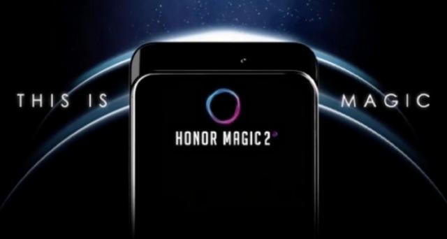 L'ambizioso Honor Magic 2, fotocamera magica che appare alle spalle dello schermo come Oppo Find X e batteria in grafene.