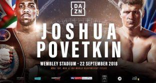 Joshua vs Povetkin, orario e streaming in Italia, dove vedere il mondiale dei massimi