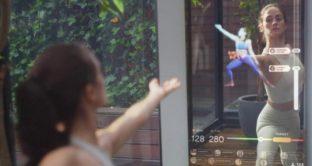 Mirror, lo specchio intelligente per fare fitness e altri esercizi a casa
