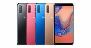 Galaxy A7 2018 in offerta a 270 euro, scheda tecnica smartphone Samsung