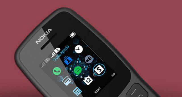 Arriva il nuovo Nokia 106, telefonino con ricarica che dura oltre un mese.