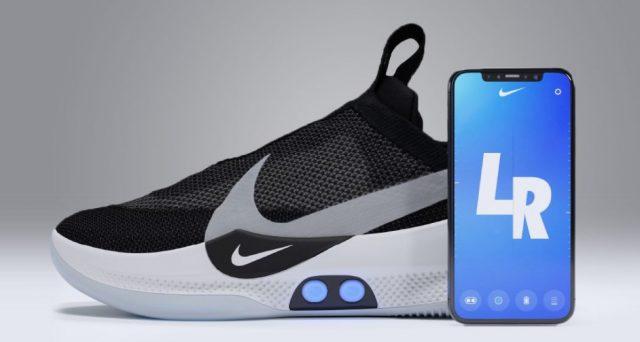 Arriva Adapt BB, le scarpe Nike che si regolano con lo smartphone grazie all'apposita applicazione.