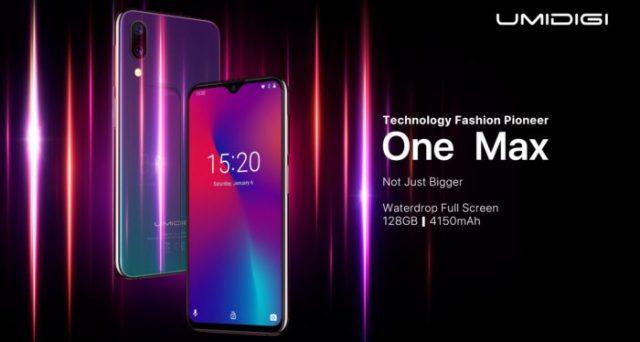 Smartphone a prezzi imbattibili, ecco One Max di Umidigi, il device con caratteristiche da top di gamma a soli 189 euro.