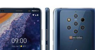 Nokia 9 PureView con fotocamera da record, scheda tecnica e prezzo