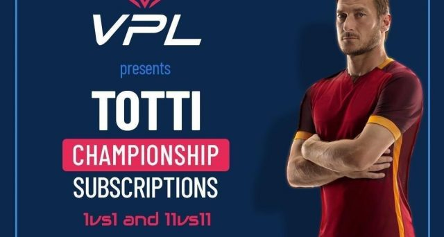 Calcio virtuale con Totti eSports, parte il torneo su console