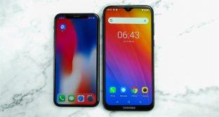 Smartphone economico con display 6,1 e notch a goccia a soli 89 euro