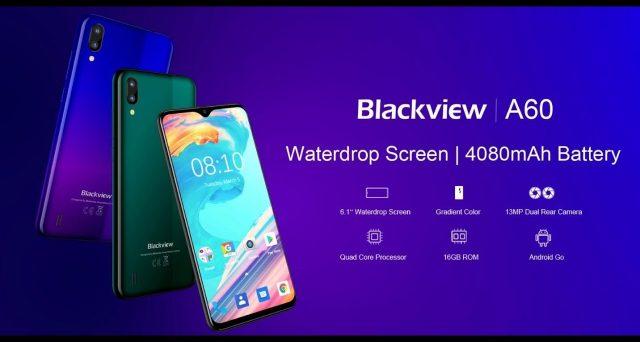 A caccia di smartphone economici, ecco Blackview A60, un device che fa gola a molti.