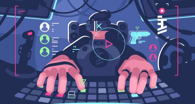 Uno studio rivela che il mondo del gaming online è preso d'assedio dagli attacchi hacker.
