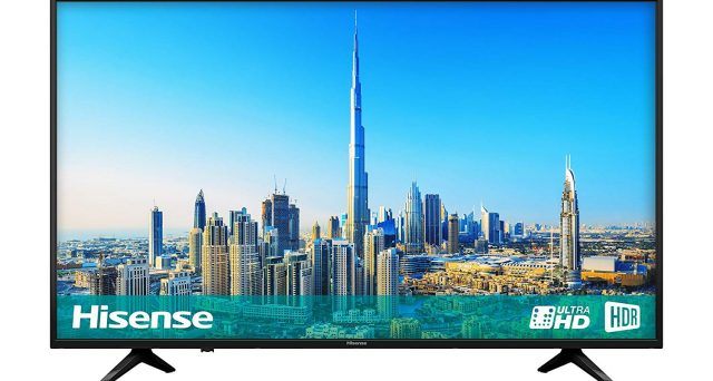"Smart tv in offerta, c'è Hisense 4K da 40"" a 329 euro"