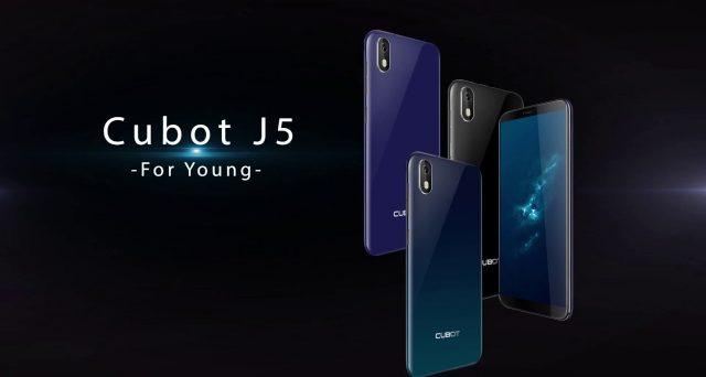 A caccia di smartphone economici, che ne dite di questo Cubot J5?