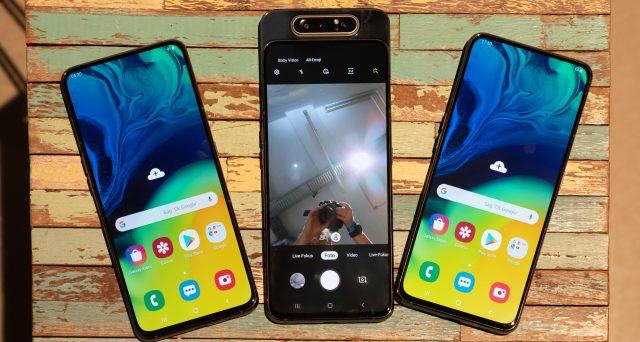 Arriva anche in Italia pronto per la vendita il Galaxy A80, scheda tecnica e prezzo dello smartphone Samsung.