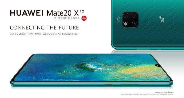 Arriva in Italia il mastodontico Huawei Mate 20 X 5G, il top dei top della casa cinese.