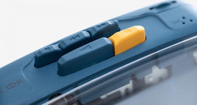 Operazione vintage con ITS' OK, torna il lettore di cassette portatili.