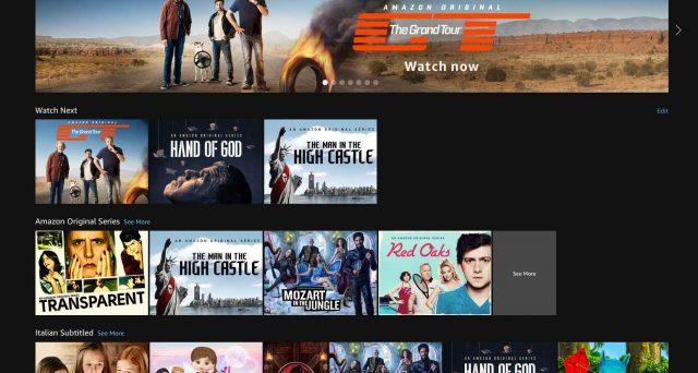 Tutte le serie tv disponibili su Prime Video, ecco la lista completa.