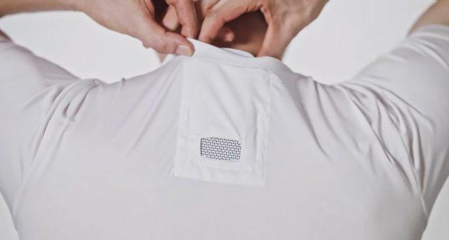 Maglietta freschissima grazie alla tecnologia, arriva la t-shirt con condizionatore.
